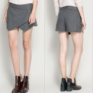 Zara Basic Collection Pinstripe Skort XS